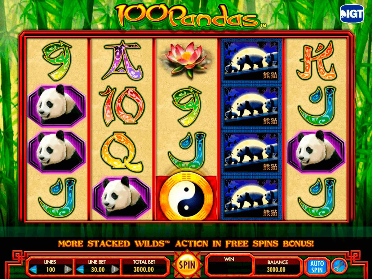 machines sous gratuites panda