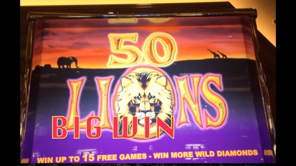 machines sous gratuites 50 lions